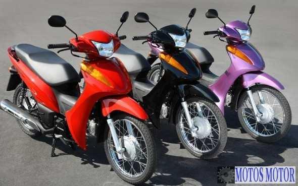 Biz 100 2013 Cores