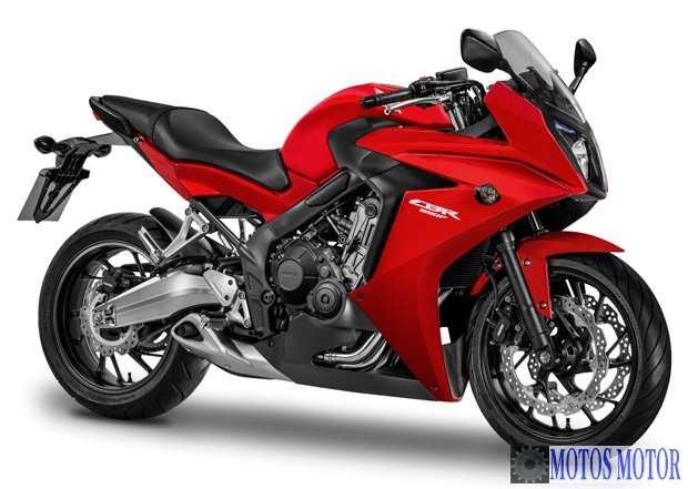 CBR 650F 2015 Vermelha