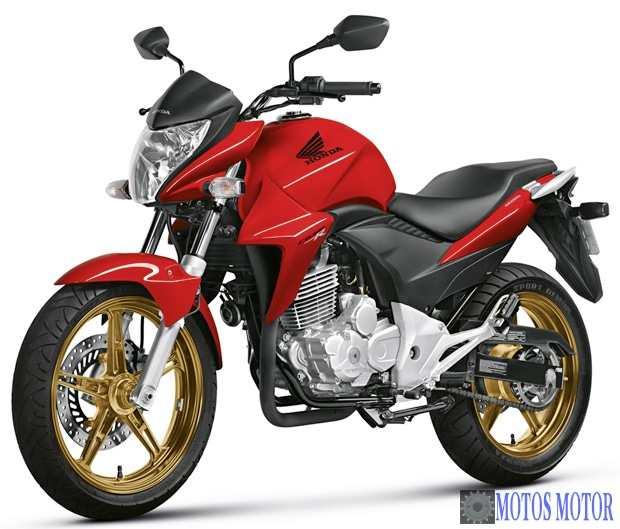 Honda CB 300R 2015 Vermelha