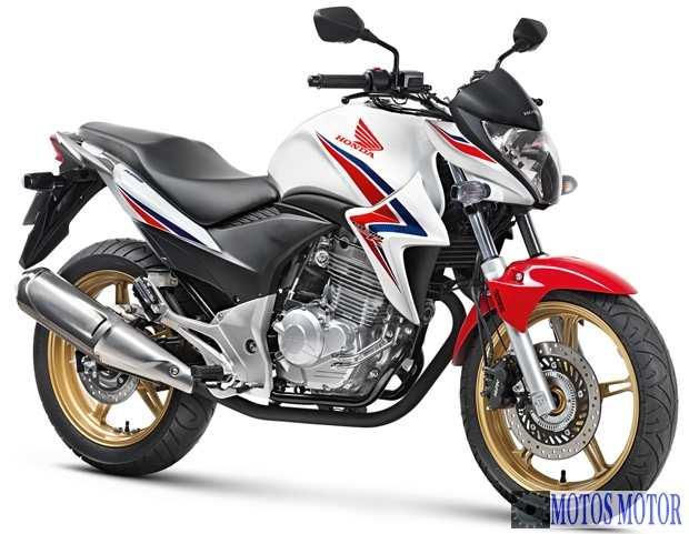 Honda CB 300R 2015 Branca