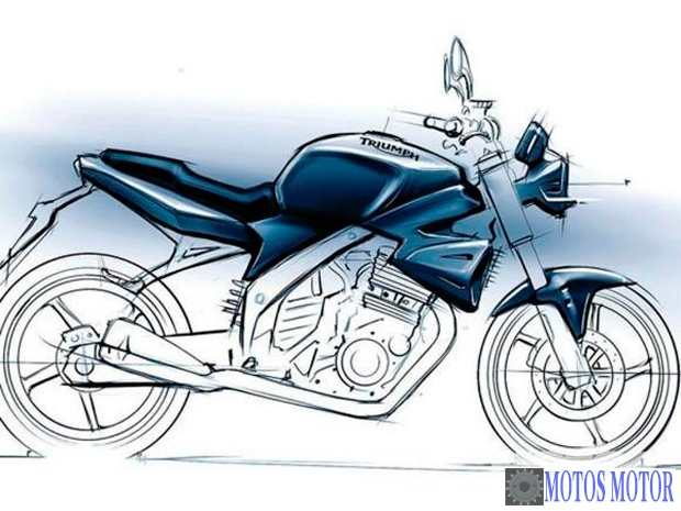 Triumph 250cc projeto