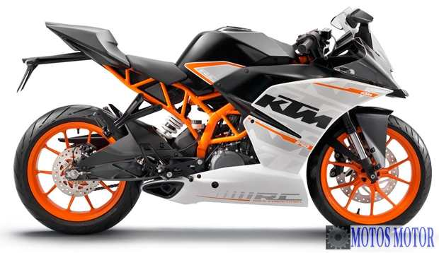 KTM RC 390 2014 Lateral