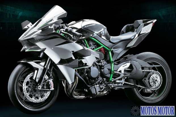 Kawasaki H2R Lateral esquerdo