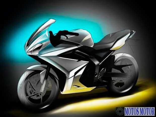 Triumph projeto para 250cc