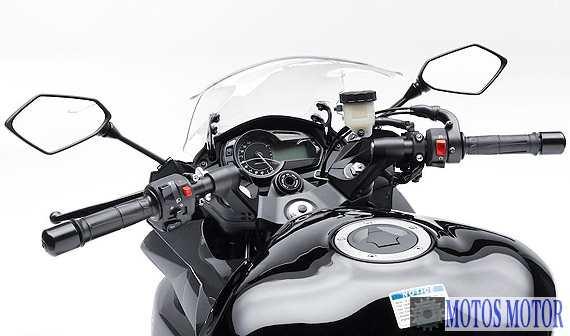 Kawasaki Ninja 2012 trocar retrovisores e guidão
