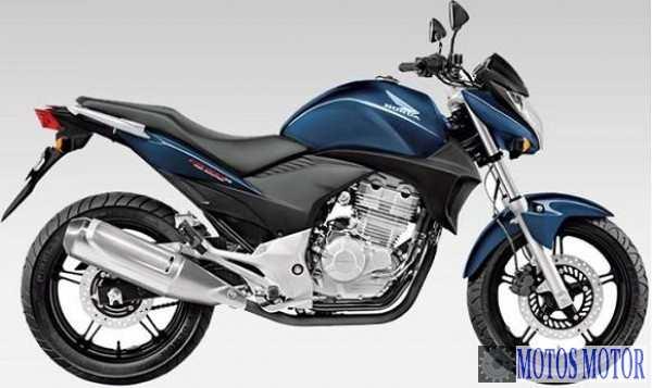 CB 300R 2012 Azul