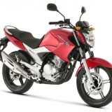 FAZER YS-250 2012 Vermelha