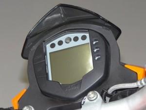 KTM DUKE 200 2012 Painel