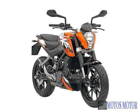 KTM DUKE 125 2012 Frontal