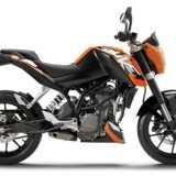 KTM DUKE 200 2012 Lateral