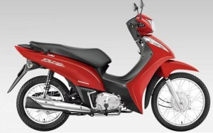 BIZ 125 Flex 2012 Lateral