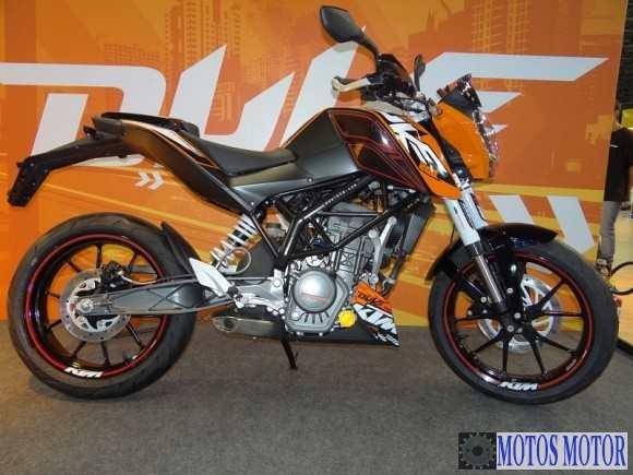 LATERAL KTM DUKE 200
