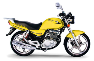 GSR 150i 2014 Amarela
