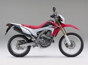 Lateral CRF 250L 2012