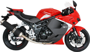 COMET GT 650R 2012 Lateral