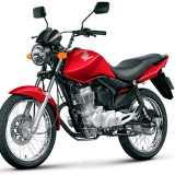 CG 150 FAN 2013 Vermelha