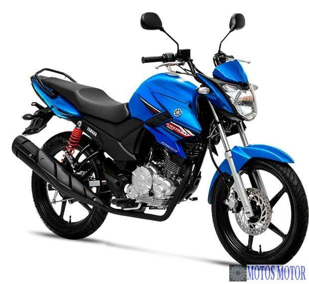 YS 150 Fazer 2014 Azul