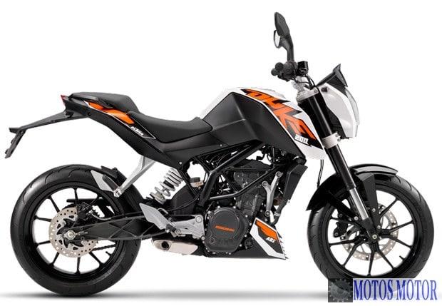 Duke 200 2015 Branca