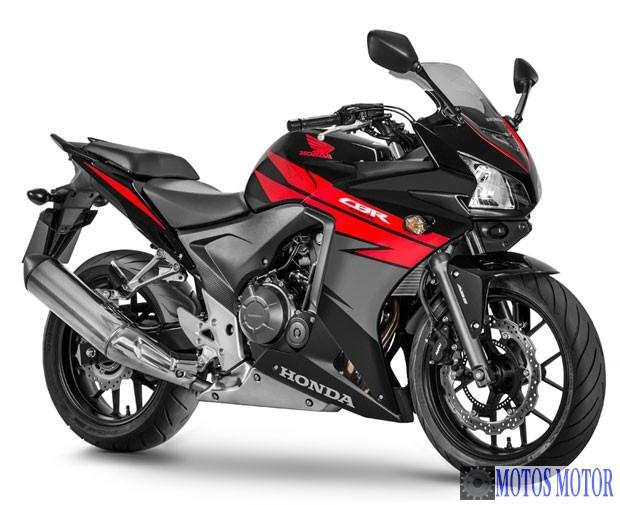CB 500R 2015 Vermelha
