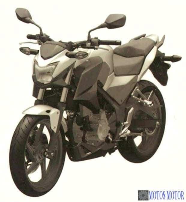 Honda CBR 300F (possível)