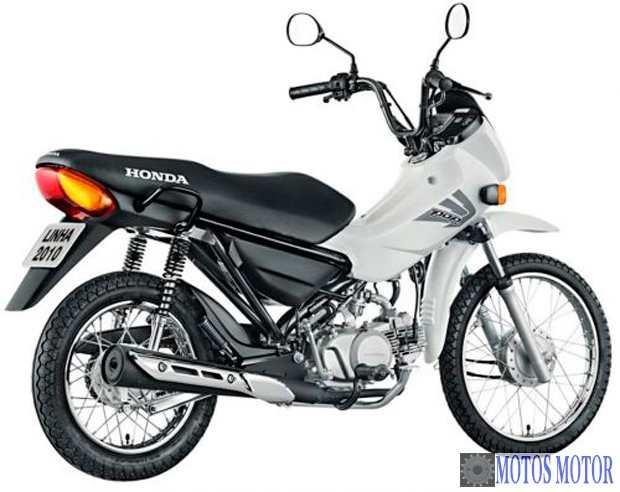 Honda Pop 100 Branca
