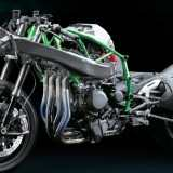 Kawasaki H2R Chassi Lateral