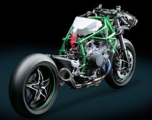 Kawasaki H2R Chassi traseira