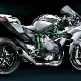 Kawasaki H2R Lateral direito