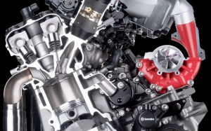 Kawasaki H2R Motor 300 cv