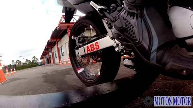 Sistema de freios ABS - Teste