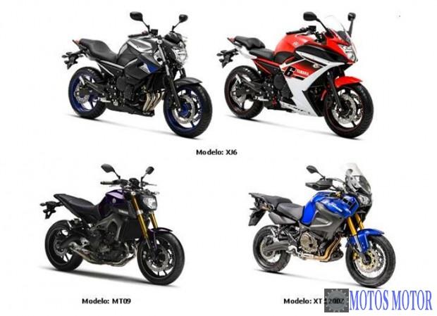 Recall Yamaha 2015
