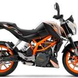 KTM Duke 390 2015 Laranja