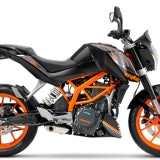 KTM Duke 390 2015 Preta