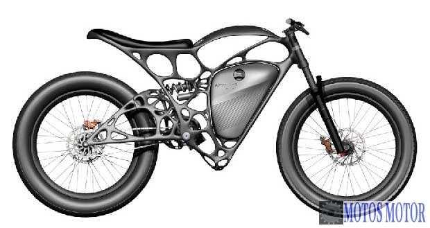 Ligh tRider - Moto elétrica 3D