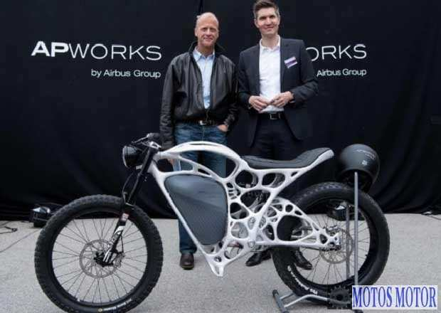 Moto elétrica impressa 3D