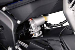 Yamaha YZF-R6 2017 Suspensão
