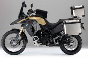 BMW F 800 GS Adventures