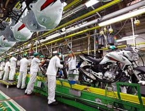 Fábrica da Honda - Produção caindo em 2016