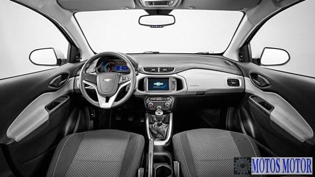 Chevrolet Onix 2017 Interior