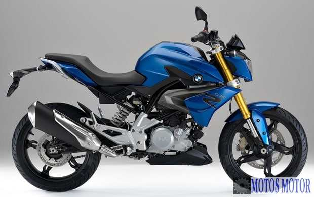 BMW G310 R 2017 Lateral