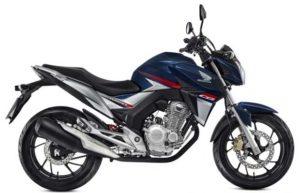 Honda CB Twister 2018 Azul