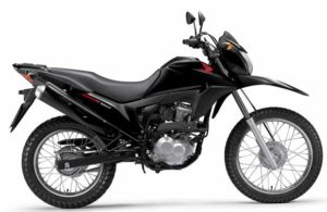 Honda NXR Bros ESD 2018 Preta