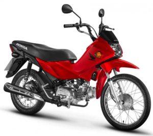 Honda Pop 110i 2018 Vermelha
