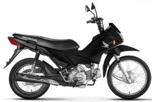 Honda Pop 110i 2018 Preta