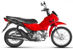 Honda Pop 110i Lateral